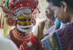 Theyyam Fotografia de Stock Royalty Free