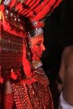 Theyyam lizenzfreies stockbild