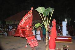 Theyyam stock afbeelding