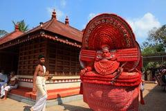 Theyyam artysta Obraz Stock