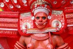 Theyyam artysta Fotografia Stock