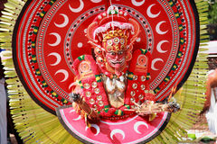 Theyyam artysta Zdjęcie Royalty Free