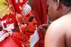 Theyyam artysta Zdjęcia Royalty Free