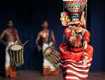 Theyyam Dance in Kerala, South India Royalty Free Stock Photos