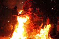 Theyyam performance Stock Photography