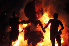 Theyyam performance Royalty Free Stock Images