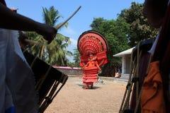 Theyyam a ritualistic folk art Stock Image