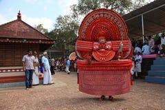 Theyyam a ritualistic folk art Royalty Free Stock Photography