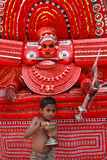 Theyyam a ritualistic folk art Royalty Free Stock Image