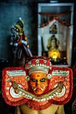 Theyyam is a ritualistic folk art form of Kerala Stock Image