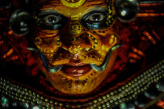 Theyyam is a ritualistic folk art form of Kerala Royalty Free Stock Image