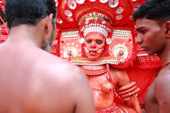 Theyyam a ritualistic folk art Stock Photography
