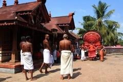 Theyyam ritualistic ludowa sztuka Zdjęcie Royalty Free