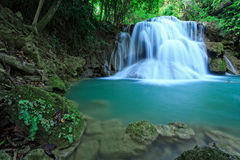 Thi Lo Su, the biggest waterfall in Thialand Royalty Free Stock Photography