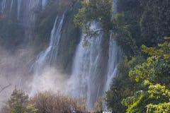 Thi Lo Su Water Fall bella cascata nella provincia di Tak, thaila Fotografie Stock