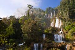 Thi Lo Su Water Fall bella cascata nella provincia di Tak, thaila Immagine Stock Libera da Diritti