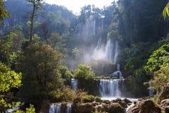 Thi Lo Su Water Fall bella cascata nella provincia di Tak, thaila Fotografia Stock Libera da Diritti