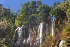 Thi Lo Su Water Fall bella cascata nella provincia di Tak, thaila Fotografie Stock Libere da Diritti
