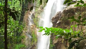 Thi Lo Su Waterfall stock footage