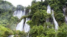 Thi Lo Su Waterfall en Thaïlande Il est un beau et merveilleux Photo stock