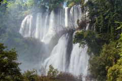 Thi Lo Su Waterfall Stock Photography