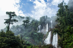 Thi Lo Su Waterfall or Thee Lor Sue Stock Image