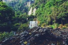 Thi Lo Su Waterfall 3 Stock Photos