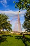 Thi LY Danang di Tran del ponte strallato Fotografie Stock Libere da Diritti