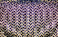 Thi pattern silk fabric Royalty Free Stock Image