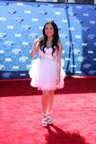 Thia Megia. LOS ANGELES - MAY 25:  Thia Megia arriving at the 2011 American Idol Finale at Nokia Theater at LA Live on May 25, 2010 in Los Angeles, CA Stock Photography