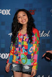 Thia Megia. LOS ANGELES -  3: Thia Megia arrives at the American Idol Season 10 FInalists Party at The Grove on March 3, 2011 in Los Angeles, CA Stock Photo