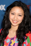 Thia Megia. LOS ANGELES -  3: Thia Megia arrives at the American Idol Season 10 FInalists Party at The Grove on March 3, 2011 in Los Angeles, CA Stock Photography