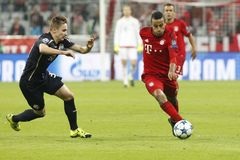 Thiago Alcántara  Bayern Munich Stock Photography