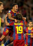 Thiago Alcantara of Barcelona Stock Photography
