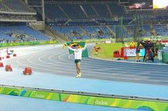 Thiago Braz da Silva à Rio2016 Photographie stock