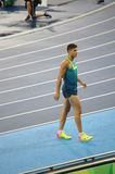 Thiago Braz da Silva, a new Brazilian Olympic hero. Thiago Braz da Silva, young Brazilian athlete, almost unknown in his own country and in the world of Stock Photography