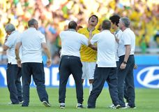 Thiago Silva Coupe du Monde 2014 Stock Photography