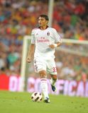 Thiago Silva player of AC Milan Royalty Free Stock Image