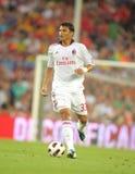 Thiago Silva Spieler von AC Mailand Lizenzfreies Stockbild