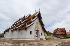 Thialand temple beautiful Royalty Free Stock Photo