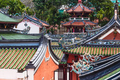 Thian Hock Keng Temple. With its long history around in Singapore, it has become the most important Hokkien Temple in Singapore Royalty Free Stock Photos