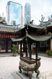 Thian Hock Keng Temple, Singapore.  royalty free stock images