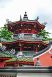 Thian Hock Keng temple, Telok Ayer street, Singapore royalty free stock photography