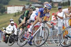 Thibault Pinot  Tour de France 2015 Royalty Free Stock Images