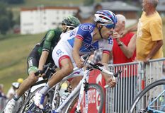 Thibault Pinot  Tour de France 2015 Royalty Free Stock Photo