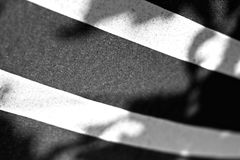 Thick Black and White Lines Stock Image