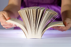 Thick book stock photography
