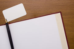 Thick book with a clean slate Stock Photography
