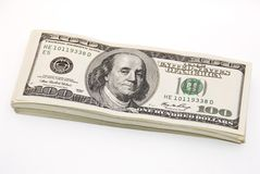 Thick bundle of money Stock Photography