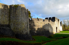 Thick Castle Walls of Desmond Castle in Ireland Royalty Free Stock Photography